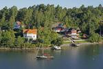 An island village on the Swedish coast.