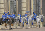 Changing of the Guards at The Royal Palace in Stockholm, Sweden.