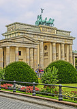 Berlin's Brandenburg Gate. (NOTE: This is PHOTO ART, a HDR painting rendition)