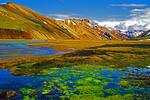 Iceland's Landmannalauger rhyolite peaks