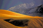 Kyrghyzstan: Tien Shan (Tian Shan) Mountains near border with China
