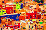 Mexico: Guanajuato's colorful jumble of buildings
