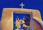 San Francisco de Asis church in Taos, New Mexico.