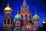 St. Petersburg, Russia:  Church of the Savior on the Spilled Blood