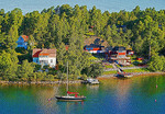 An island village on the Swedish coast.