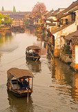 Xitang, Zhejiang: Ancient water town in spring, location for film Mission Impossible III