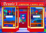 Dennis's Chinese Carry Out, Inverness, Scotland.