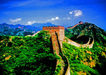 Great Wall northeast of Beijing at Jinshanling Pass.