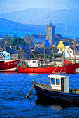 Dingle Harbour in County Kerry, Ireland.