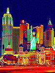 New York-New York Hotel & Casino in Las Vegas, Nevada.