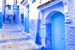 Morocco's Blue City of Chefchaouen.