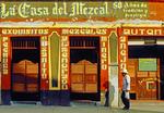 Saloon La Casa del Mezcal, Oaxaca, Mexico.