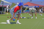 Club Harrington lawn bowlers in Harrington, NSW, Australia.