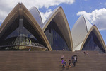 Sydney Opera House steps.