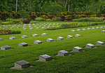 Bita Paka War Cemetery on New Britain Island, Papua New Guinea.