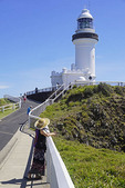 Cape Byron Light House at most easterly point in Australia.
