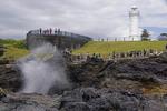 Kiama Blowhole at Blowhole Point, NSW, Australia.
