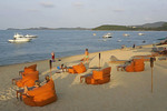 Bo Phut Beach at The Wharf at Fisherman's Village, Koh Samui, Thailand.