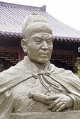Statue of Admiral Zheng He at his gravesite at Niushou Mountain Cultural Park near Nanjing.