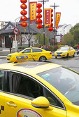 Nanjing taxis.