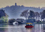 Xuanwu Lake in Nanjing.