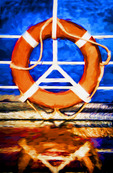 Life Preserver on Cruise Ship