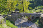 Old Roman Bridge,  AKA Adzi-pasa's Bridge, over the Ribnica River in Podgorica