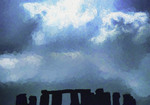 Stonehenge --Photo Art Painting