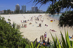 Coolangatta Beach, City of Gold Coast, Queensland, Australia.