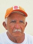 Elderly Cuban man in Santiago de Cuba.