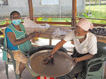 Women's chocolate cooperative, Chocal, at Puerto Plata, Dominican Republic.