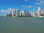 Miami downtown skyline.