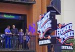 Nashville downtown entertainment district.