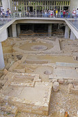 Excavation under Acropolis Museum in Athens.