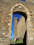 The Fortezza in the Tuscan hilltop town of Montalcino.