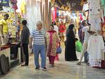 Muscat souk shops.