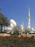Grand Sheihk Zayed Mosque in Abu Dhabi, UAE.