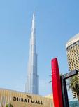 Burj Khalifa skyscraper in Dubai.