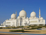 Sheihk Zayed Grand Mosque in Abu Dhabi