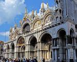 Saint Mark's Basilica in Venice, Italy.