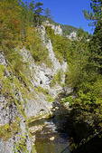 Buinovo Gorge in Rhodope Mountains of western Bulgaria