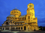 Alexander Nevsky Cathedral in Sofia, Bulgaria.