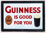 Guinness sign in Ireland.  --Digital Photo Art Painting