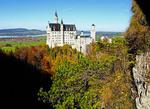 Mad King Ludwig's Neuschwanstein Castle in Bavaria, Germany.