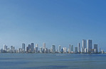 Cartagena skyline.