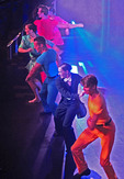 Mainstage theater dance performance on Holland America Line's Zuiderdam cruise ship.