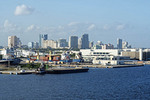 Ft. Lauderdale, Florida, skyline.