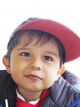 Argentinian boy in Puerto Madryn.