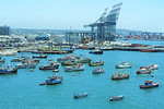 Port of San Antonio, Chile.