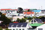 Port Stanley houses, The Falkland Islands (Malvinas).